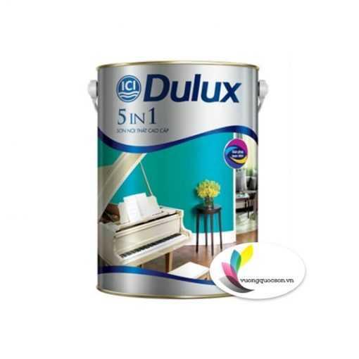 Sơn Nước Nội Thất Dulux 5 In 1 Bóng