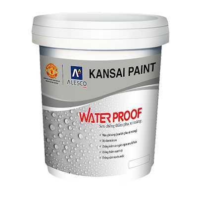 Sơn Chống Thấm Pha Xi Măng Kansai Water Proof