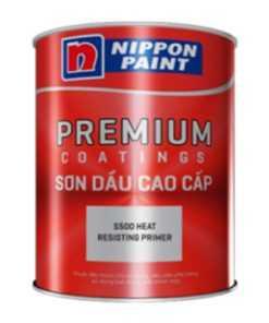 Sơn Chịu Nhiệt Nippon S500 Heat Resisting Black