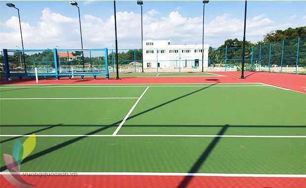 Thi Công Sân Tennis Tiêu Chuẩn 6 Lớp