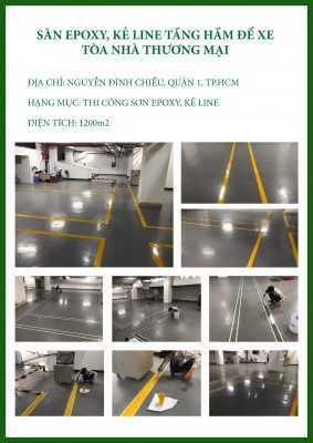 CTCH0532019 sơn kẻ vạch tâng hầm để xe 1