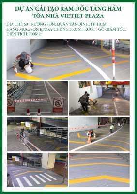 CTCH0622019 Dự án cải tạo ram dốc tầng hầm tòa nhà VIETJET PLAZA 1