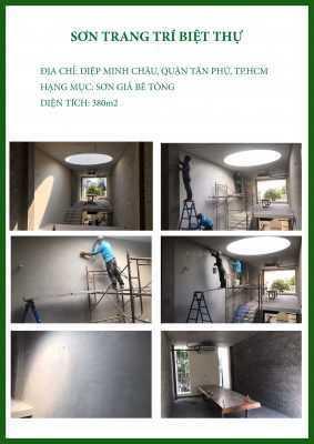 CTCH0912019 sơn giả bê tông