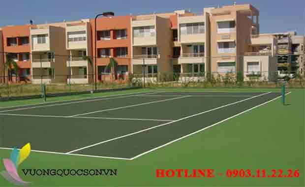 Bảng Báo Giá Thi Công Sơn Sân Tennis Trọn Gói Khu Vực Quận 1