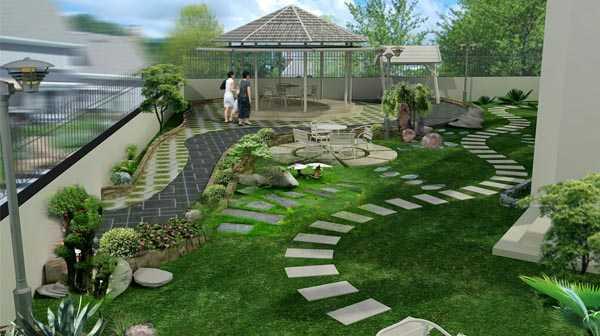 Thi Công Cỏ Nhân Tạo Sân Vườn Tại Quận Tân Phú